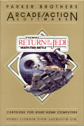 Star Wars: Return of the Jedi - Death Star Battle Atari 8-bit Front Cover