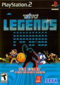 Taito Legends PlayStation 2 Front Cover