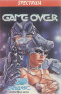 Game Over ZX Spectrum Front Cover The uncensored cover by Luis Royo