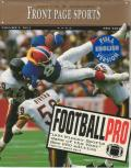 Front Page Sports: Football Pro DOS Front Cover