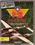 P-38 Lightning Tour of Duty DOS Front Cover