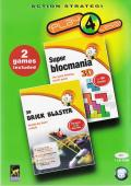 Super Blocmania 3D + 3D Brick Blaster Windows Front Cover
