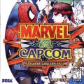 Marvel vs. Capcom: Clash of Super Heroes Dreamcast Front Cover