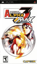 Street Fighter Alpha 3 MAX PSP Front Cover