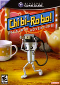 Chibi-Robo!: Plug into Adventure! GameCube Front Cover