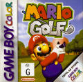 Mario Golf  Game Boy Color Front Cover