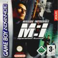Mission: Impossible - Operation Surma Game Boy Advance Front Cover