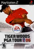 Tiger Woods PGA Tour 06 PlayStation 2 Front Cover