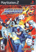 Mega Man X8 PlayStation 2 Front Cover