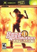 Dance Dance Revolution: Ultramix 3 Xbox Front Cover