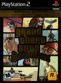 Grand Theft Auto: San Andreas - Special Edition PlayStation 2 Front Cover