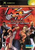 KOF: Maximum Impact Xbox Front Cover
