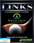 Links: Championship Course - Barton Creek DOS Front Cover