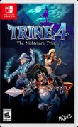 Trine 4: The Nightmare Prince Nintendo Switch Front Cover 1st version