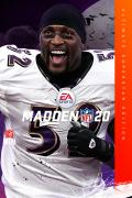 Madden NFL 20 (Ultimate Superstar Edition) Xbox One Front Cover 1st version