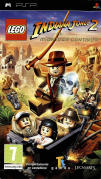 LEGO Indiana Jones 2: The Adventure Continues PSP Front Cover