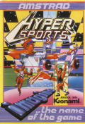 Hyper Sports Amstrad CPC Front Cover