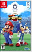 Mario & Sonic at the Olympic Games: Tokyo 2020 Nintendo Switch Front Cover 1st version