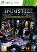 Injustice: Gods Among Us - Ultimate Edition Xbox 360 Front Cover