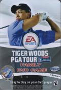 Tiger Woods PGA Tour DVD Player Front Cover