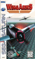 Wing Arms SEGA Saturn Front Cover