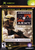 America's Army: Rise of a Soldier (Special Edition) Xbox Front Cover
