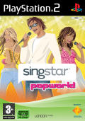 SingStar Popworld PlayStation 2 Front Cover