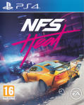NFS: Heat PlayStation 4 Front Cover