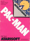 Pac-Man Intellivision Front Cover