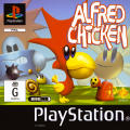 Alfred Chicken PlayStation Front Cover
