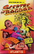 Sceptre of Bagdad ZX Spectrum Front Cover