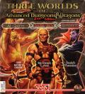Three Worlds of Official Dungeons & Dragons 2nd Edition Computer Games DOS Front Cover
