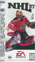 NHL 97 SEGA Saturn Front Cover