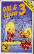 Olli & Lissa 3: The Candlelight Adventure ZX Spectrum Front Cover