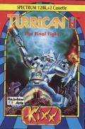 Turrican II: The Final Fight ZX Spectrum Front Cover