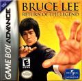 Bruce Lee: Return of the Legend Game Boy Advance Front Cover