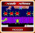 Frogger Nintendo Switch Front Cover 1st version