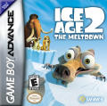 Ice Age 2: The Meltdown Game Boy Advance Front Cover