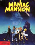 Maniac Mansion Apple II Front Cover