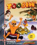 Toobin' Commodore 64 Front Cover
