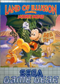 Land of Illusion starring Mickey Mouse Game Gear Front Cover
