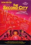 Mercenary: Escape from Targ - The Second City Atari 8-bit Front Cover