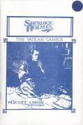 Sherlock Holmes: The Vatican Cameos DOS Front Cover
