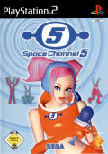 Space Channel 5 PlayStation 2 Front Cover