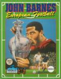 John Barnes European Football Amiga Front Cover