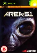 Area-51 Xbox Front Cover