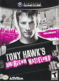 Tony Hawk's American Wasteland GameCube Front Cover