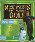 Nick Faldo's Championship Golf DOS Front Cover