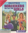 Spellcasting 101: Sorcerers get all the Girls DOS Front Cover