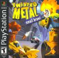 Twisted Metal: Small Brawl PlayStation Front Cover